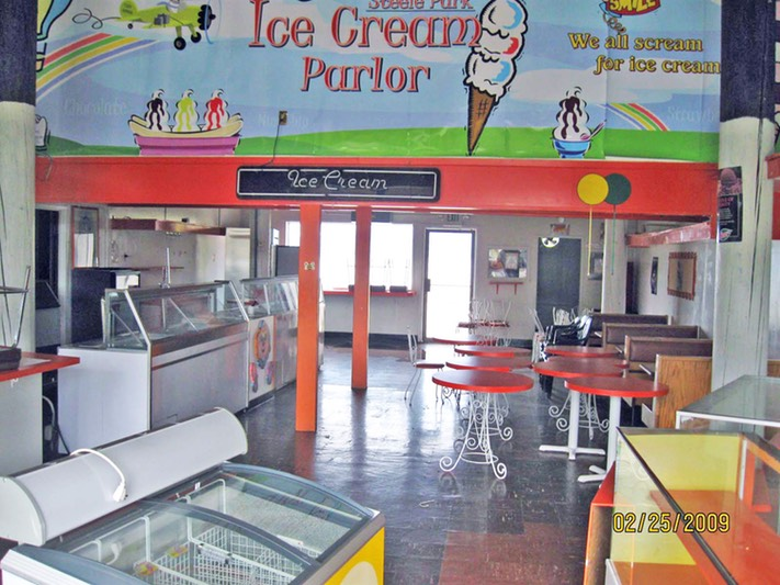 4.0 Steele Park Ice Cream Parlor before